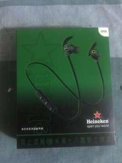 海尼根星潮運動耳機 經典款限量藍牙無線耳機