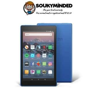 "[IN-STOCK] All-New Fire HD 8 Tablet | 8"" HD Display, 16 GB, Marine Blue - without Special Offers (No Advertisements)"