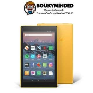"[IN-STOCK] All-New Fire HD 8 Tablet | 8"" HD Display, 16 GB, Canary Yellow - without Special Offers (No Advertisements)"