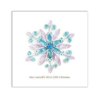 🚚 Quilling Paper Christmas Greeting Card