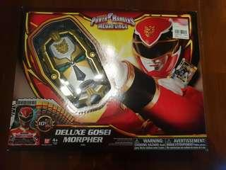 BRAND NEW COLLECTIBLE : POWER RANGERS MEGAFORCE DELUXE GOSEI MORPHER