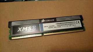 Corsair XMS3 DDR3 1600 (4GB)