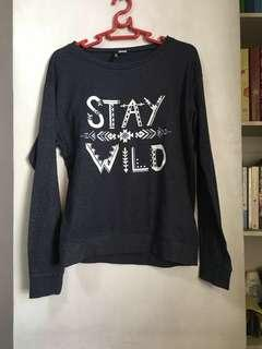 H&M Stay Wild Sweater