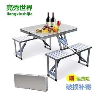 ❤️Folding Table and Chair