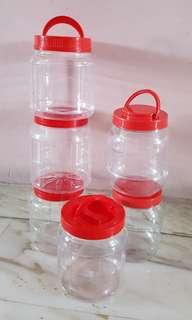 🚚 Plastic CNY Cookies Containers