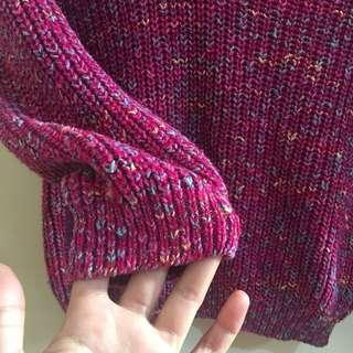 Repriced: Cute pink knitted top