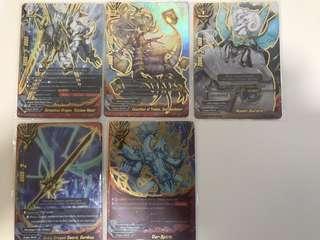 Buddyfight Dimension Destroyer Dragod Secret Pack
