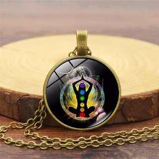 🚚 Chakra Theme Necklace