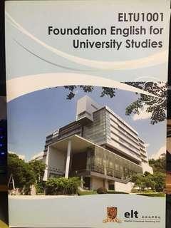 CUHK ELTU 1001 Foundation English for University Studies
