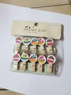 Cupcakes pegs