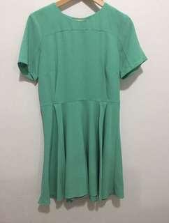 Asos work dress (green)