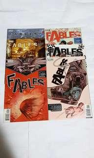 FABLES 7, 9 ,10, 5, 44, 64 DC COMICS