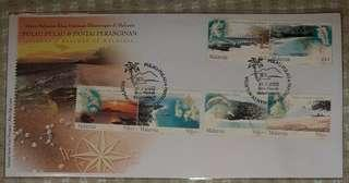 FIRST DAY COVER  : Island & Beaches of Malaysia S/No. 009926