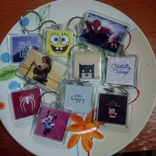 Keychains (Assorted, Made to order, Customized)