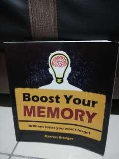 Boost your Memory BY Darren Bridger