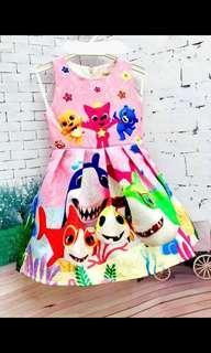 BabyShark Princess Dress
