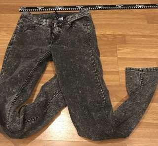 H&M Slim fit Black jeans