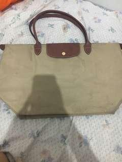 Jual Cepat Longchamp Le Pliage LLH (Large Long Handle) Authentic 100% NEGO