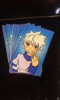 Killua Vinyl Sticker