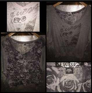Authentic Guess V-Neck Top