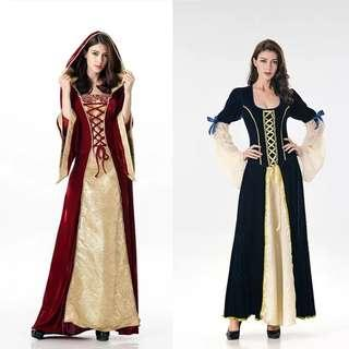 🚚 Brand New Victorian Long sleeves dress Costume Halloween