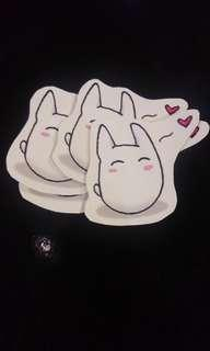 Baby Totoro Vinyl Sticker