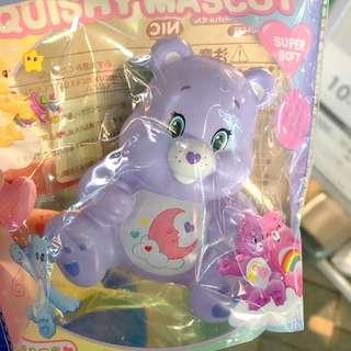 care bears purple squishy mascot