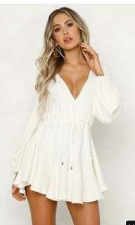Hello Molly Boutique Long Sleeve Dress