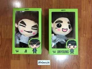 Official Got7 Gotoon Dolls [On-Hand]