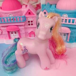 🚚 正版 My Little Pony G3 2007's 小馬寶莉 彩虹小馬 古董玩具 Care Bears 彩虹畫家小馬