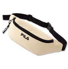 BN white fila sling bag