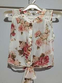 Floral with lace