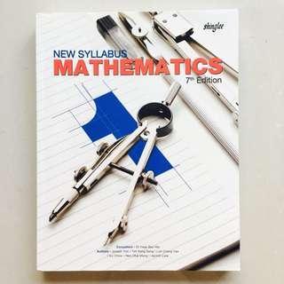 New Syllabus Mathematics Sec 1 & Sec 2