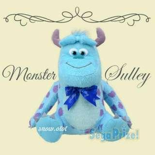 日版怪獸公司毛毛公仔☆XL! 日本限定 迪士尼/Disney/Monsters inc/University/Sulley/plush/soft toy/doll