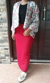 Skinny skirt / rok span