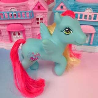 🚚 正版 My Little Pony G3  2005's 小馬寶莉 古董玩具 Care Bears 彩虹小馬 飛馬款