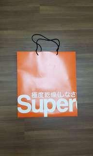 Large Superdry Paperbag