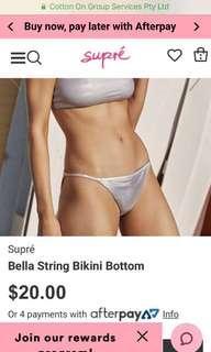 New holographic bikini