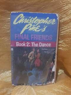 Pre-loved Books: Book 2-Dance by Christopher Pike