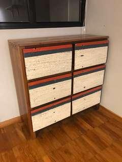 Chest Of Drawers, vintage teak wood