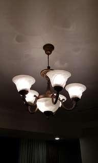 Vintage Ceiling Lighting (2 pcs)