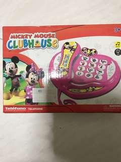 Mickey Mouse club house toy phone