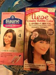 韓國泡泡染髮劑 染髮霜 Color cream bubble long lasting 啡色 栗子色