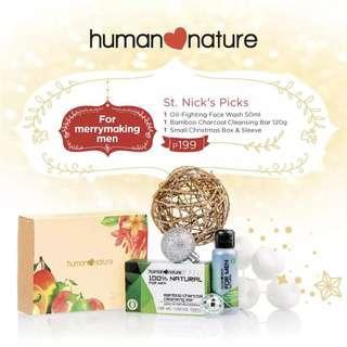 Human Nature St. Nick's Picks Gift Set