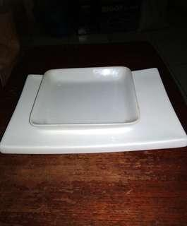 Piring Keramik Putih