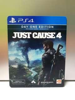 PS4 Just Cause 4 R3 Code Unredeem