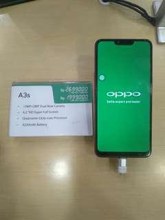 OPPO A3s 3/32GB FREE 1X Angsuran tanpa CC