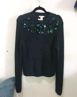 SALE! H&M Deep green sweater
