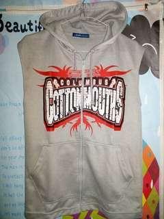 Vest zip hoodie