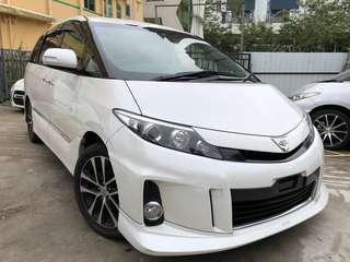 2013' Toyota Estima Areas-G Facelifted 2.4 AT